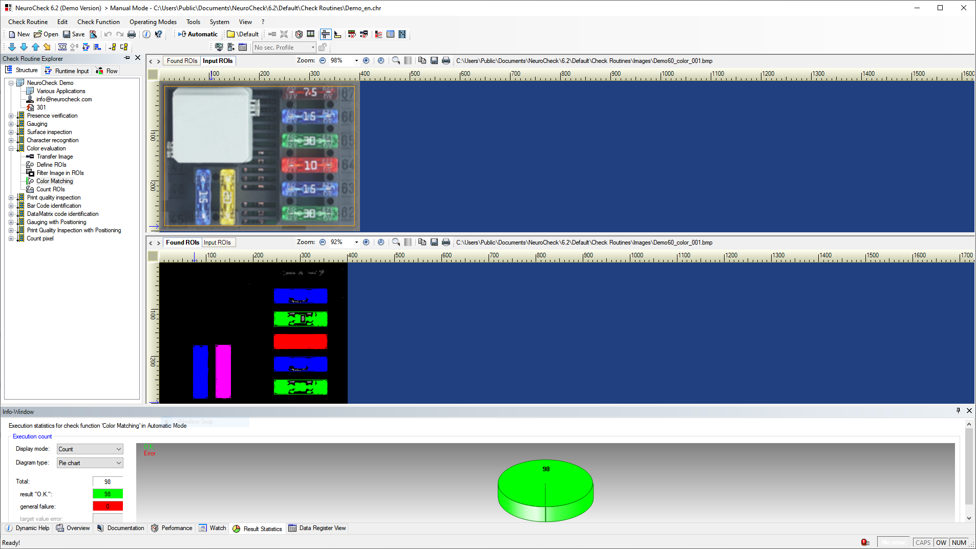 Color Analysis – NeuroCheck