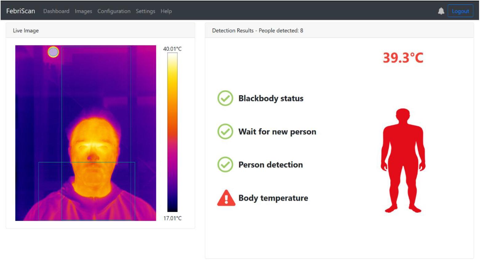 FebriScan Screenshot